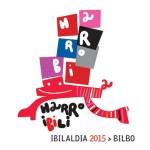 Harrobiak  antolatuko  duen  2015eko  Ibilaldiaren  Logoa  eta  Leloa.