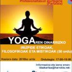 Yoga  Heziketa  ikastaroa