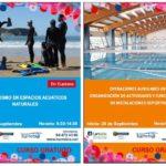 Cursos gratuitos en septiembre: SOS e instalaciones deportivas