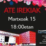 15 de marzo. Jornada de puertas abiertas en Harrobia.