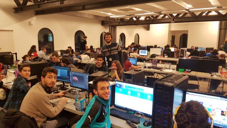 Global  Game  Jam  Bilbao  2018  ekitaldian  parte  hartu  du  Harrobiak