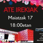 17 de mayo. Jornada de puertas abiertas en Harrobia.