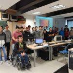 El alumnado del ciclo de informática ha visitado cinco centros educativos