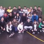 El alumnado del ciclo de deporte ha colaborado en la Semana Vasca organizada en el colegio Maristas de Bilbao