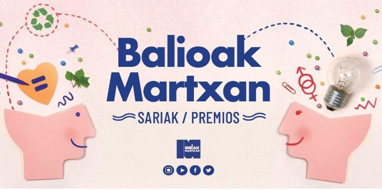 SWB2018  proiektua  'Bilbao  Gazte  Balioak  Martxan'  sariaren  irabazlea