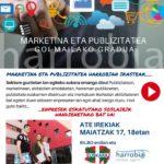 Bost  plaza  libre  'Marketina  eta  Publizitatea'  zikloan!