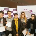 Harrobia ha participado en la entrega de diplomas de la FCT