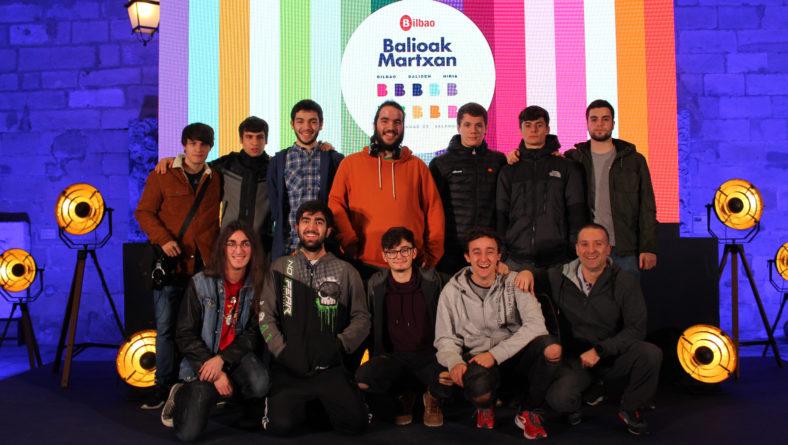 Bilbao  balioak  martxan  lehiaketaren  ideia  irabazlea
