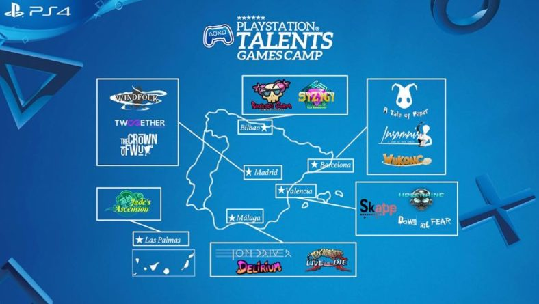 3D  Ikasleak-PlayStation  Talents  Games  Camp