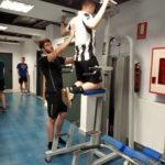 Kirol-Egokitzapen  fisikoko  ikasleak  fitness  aretoan