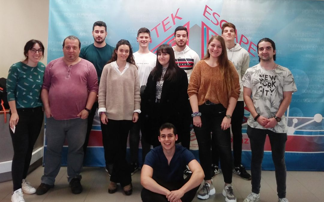 El alumnado de Marketing y Publicidad han participado en una escape room acerca del emprendimiento