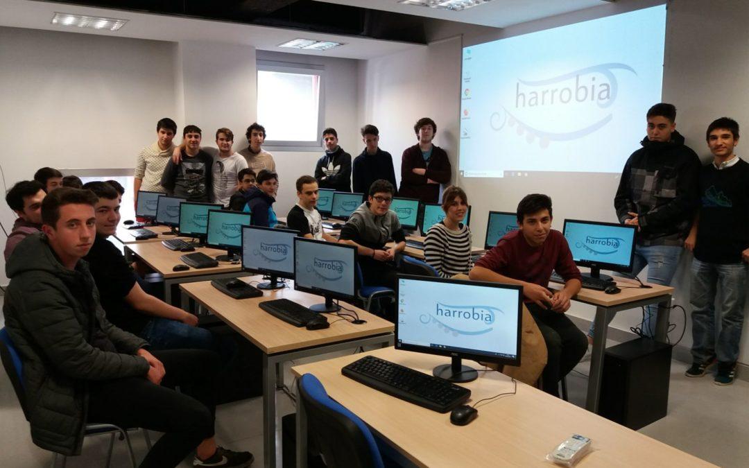 Sesión de orientación para el alumnado del ciclo de Informática