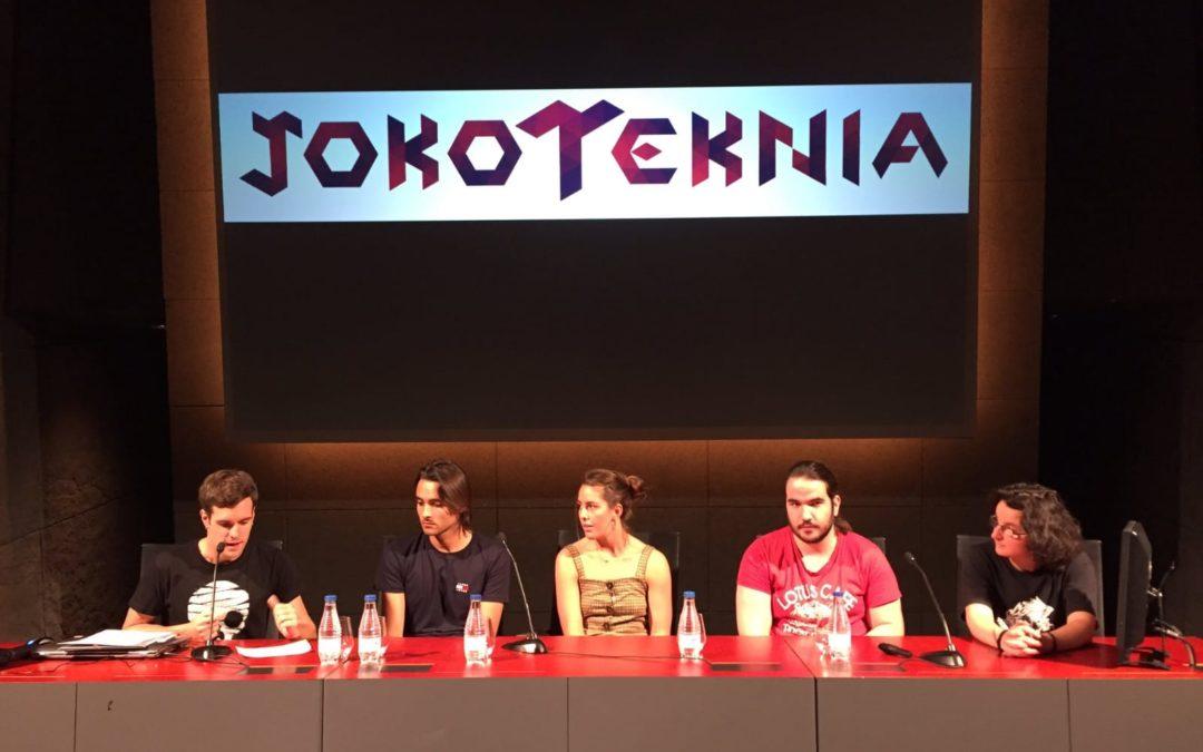 El alumnado de 3D y videojuegos en Jokoteknia