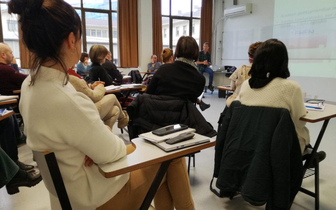 Las Coordinadoras y Coordinadores de Aprendizaje hemos recibido formación en 'Visible Thinking'