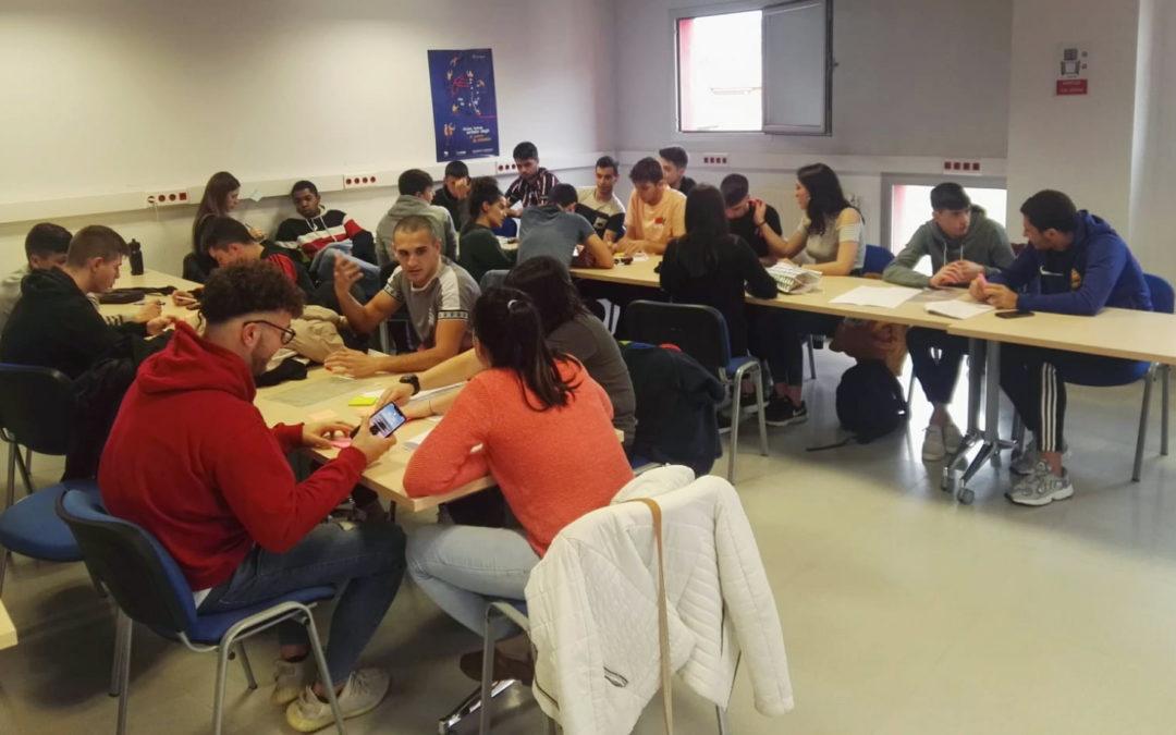 """""""Natur-inguruneko kiroleko"""" ikasleek Big Bilbao proiektuan parte hartu dute"""