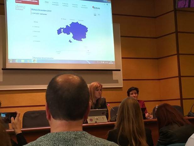 Presentación del mapa de Demografía laboral Bizkaiker