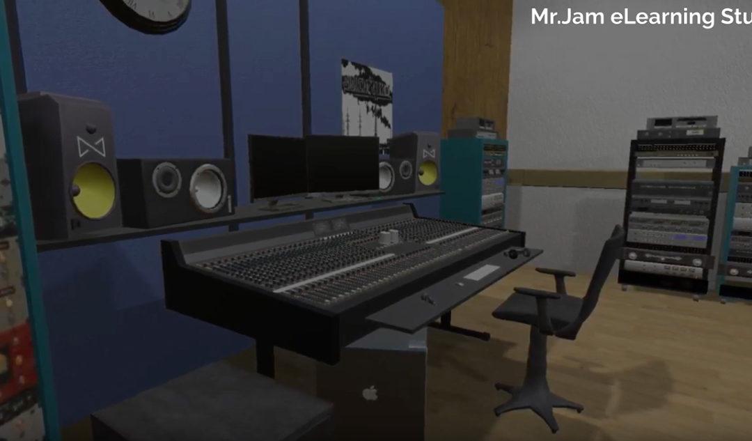 Harrobiako 3D-ko ikasleek MrJam musika eskolarako aplikazioa egin dute