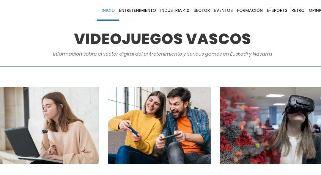 Entrevista de VIDEOJUEGOSVASCOS al tutor del ciclo de 3D y Videojuegos