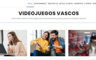 VIDEOJUEGOSVASCOS 3D eta Bideo-Jokoak zikloko tutoreari elkarrizketa